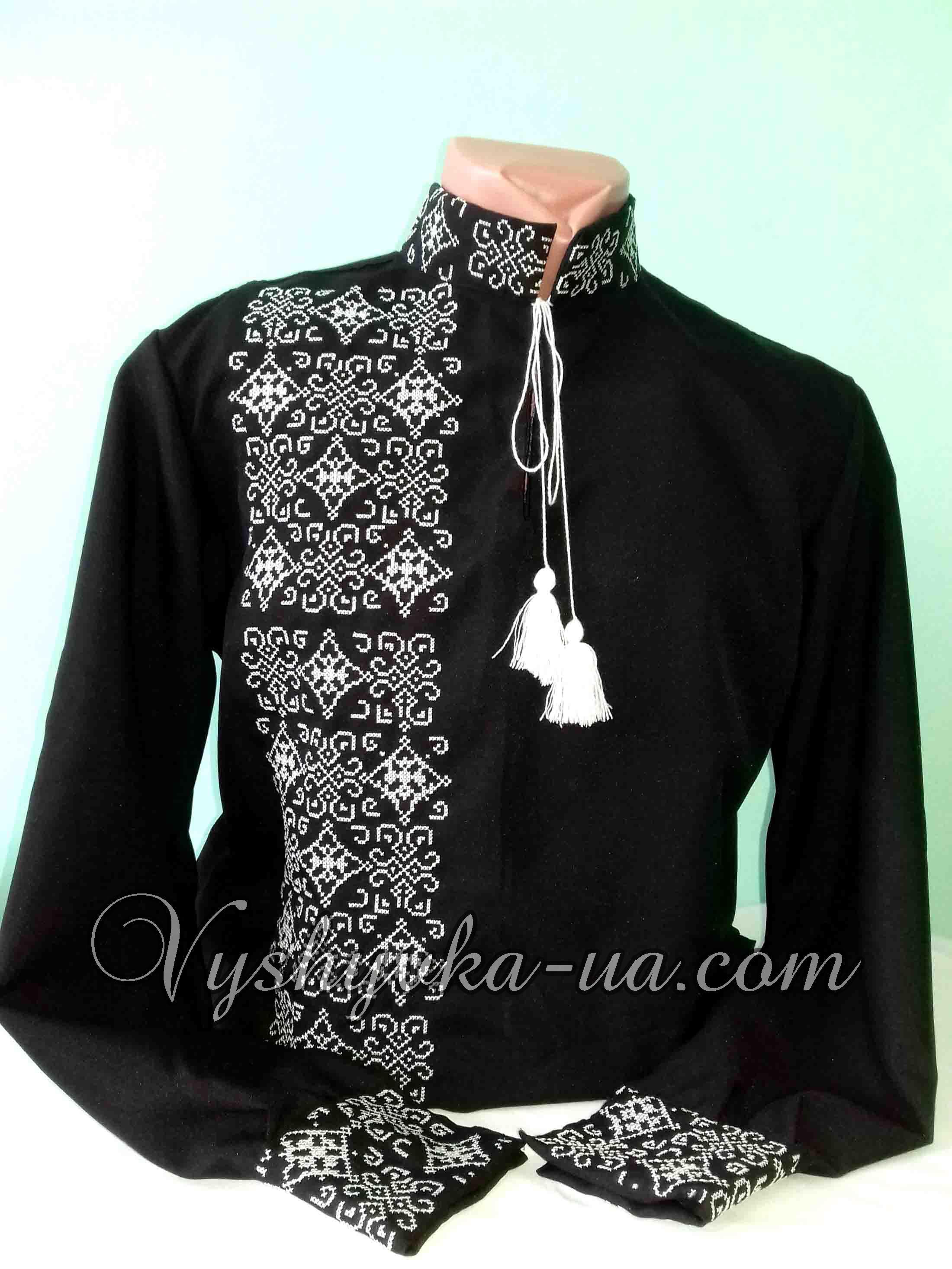 Купити вишиванку Чоловіча вишита сорочка Нестор 71d798cb5f8d1