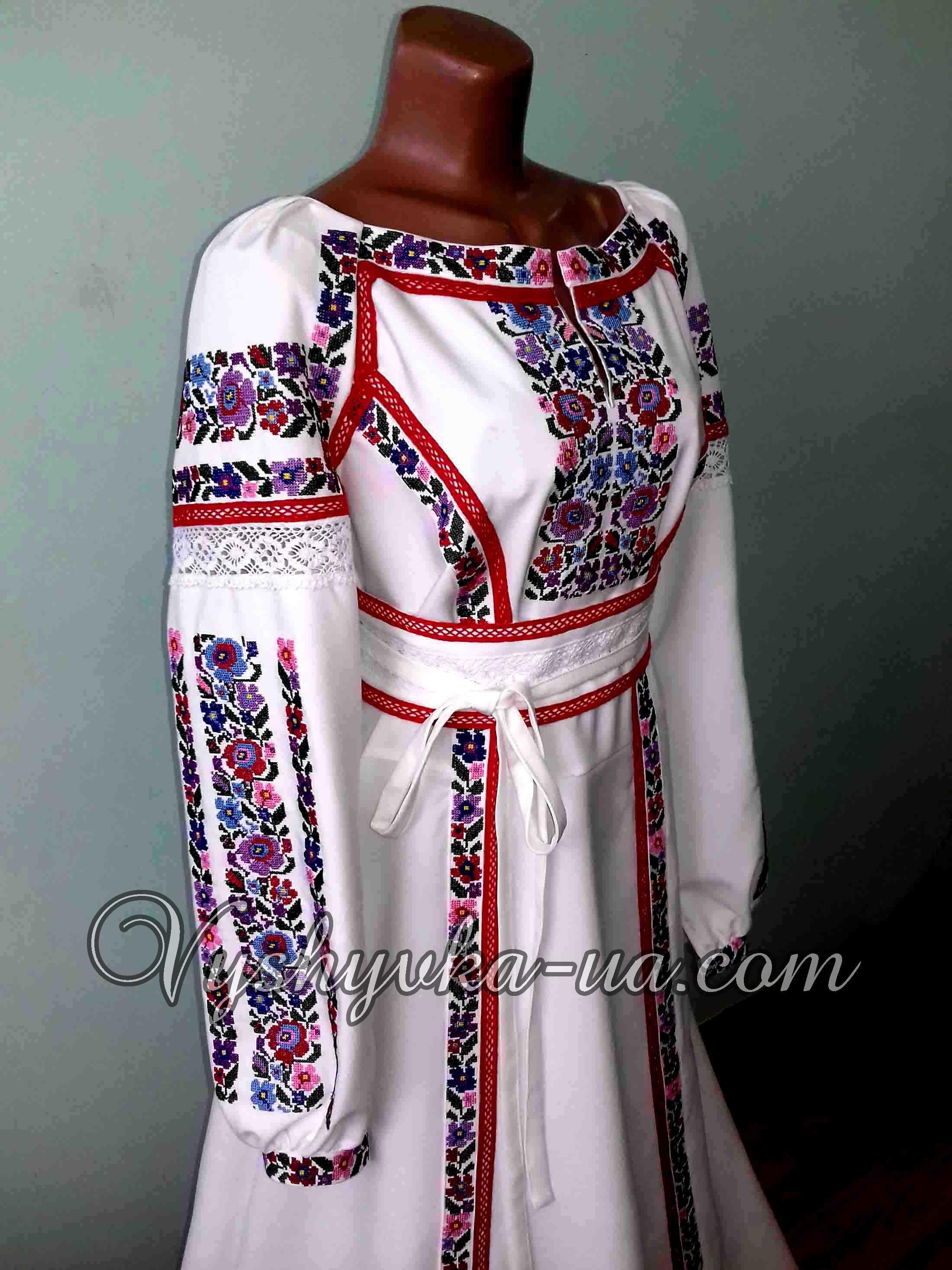 Купити вишиванку Ексклюзивна сукня