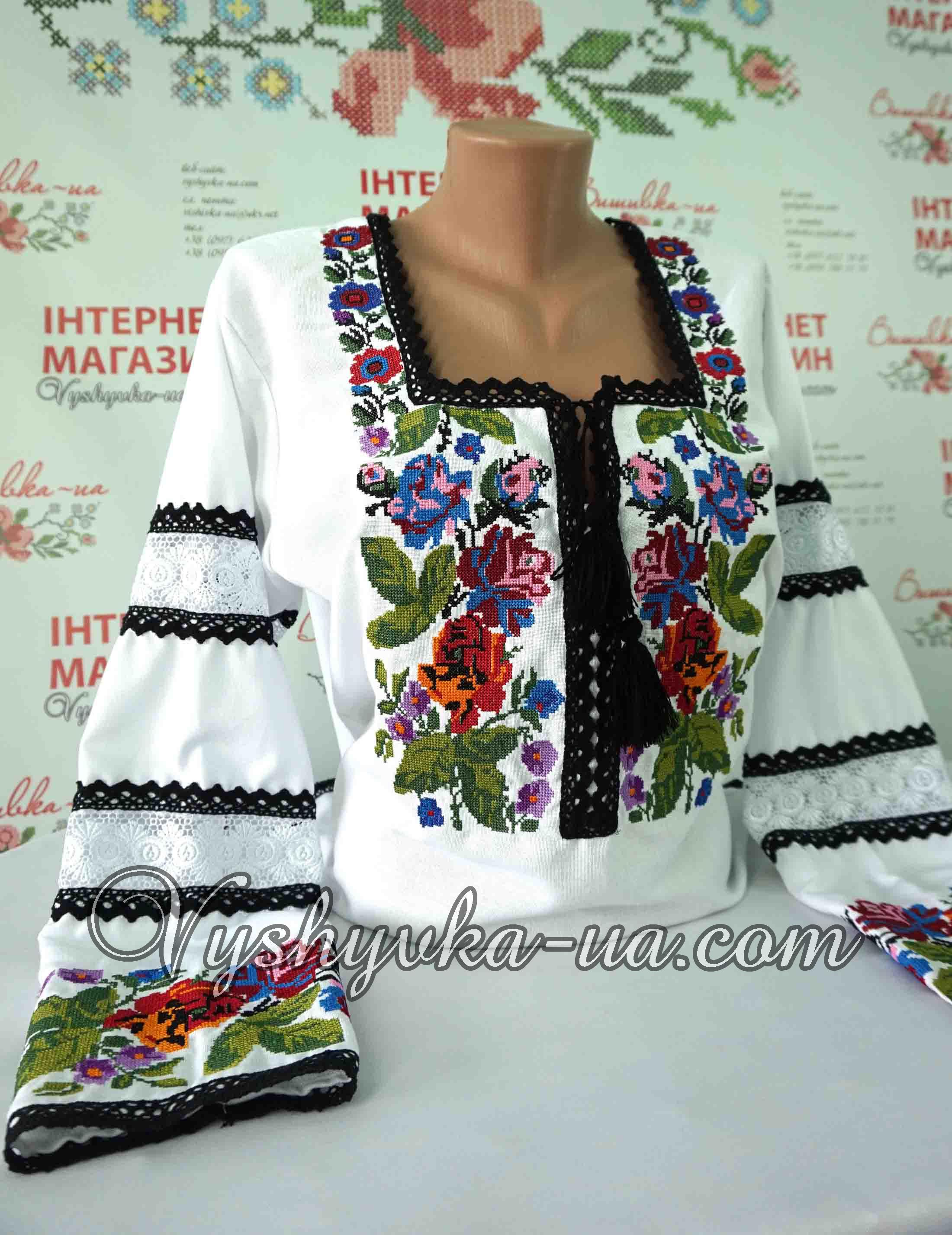 Купити вишиванку Вишита сорочка