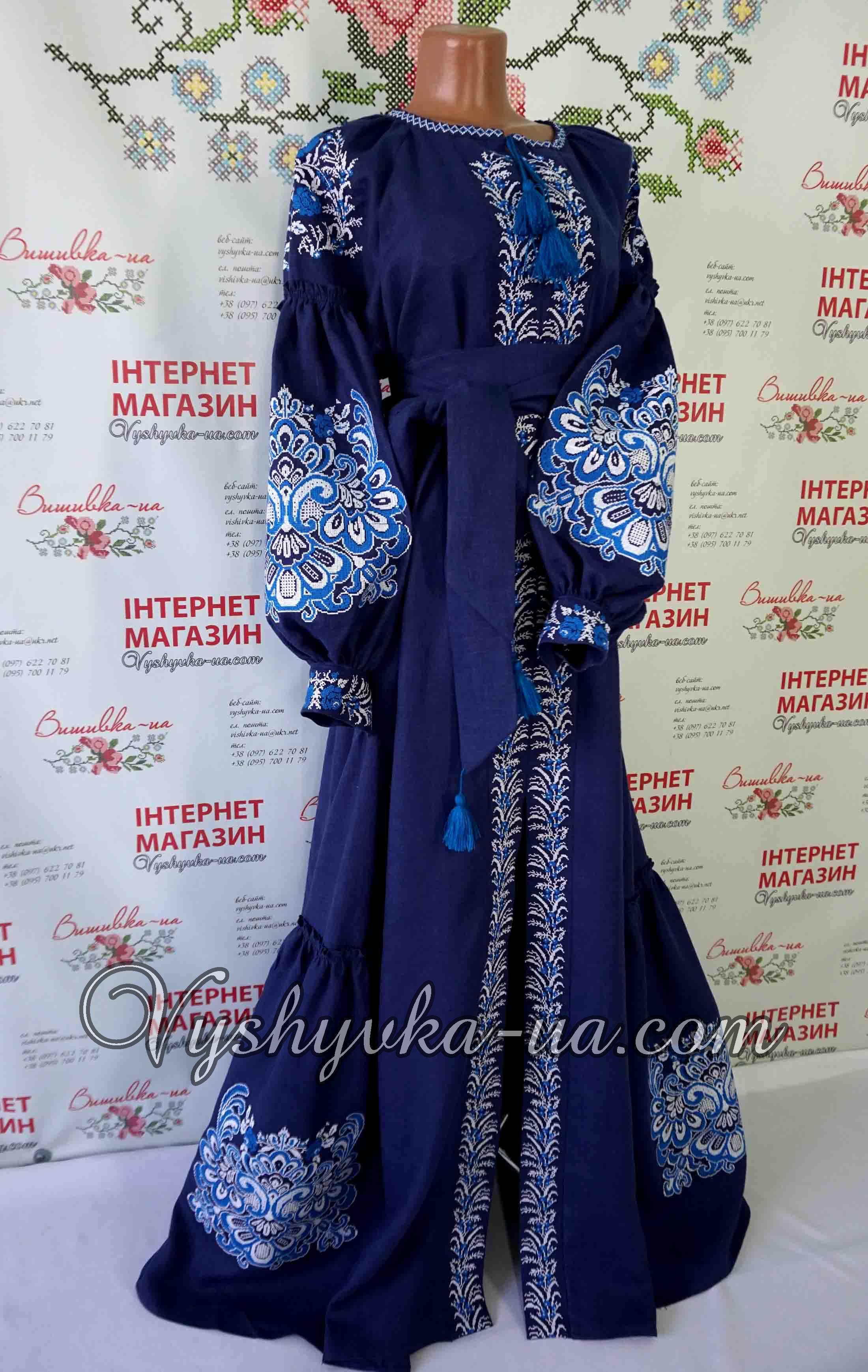 71353b02372e89 Купити вишиванку Вишивана сукня в стилі бохо
